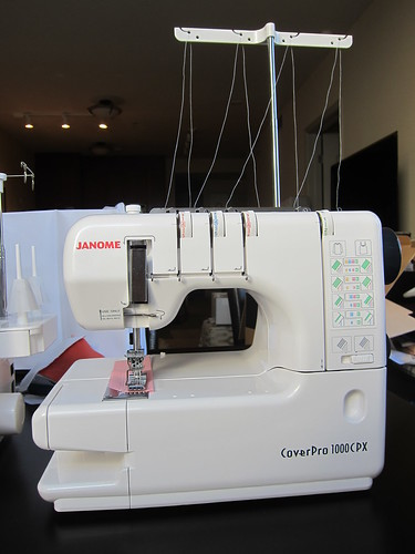 Janome CoverPro 1000CPX | by Everyday Fray