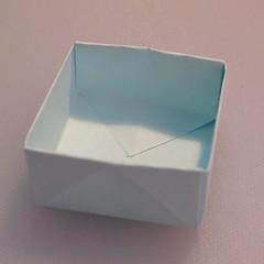 วิธีพับกระดาษเป็นรูปกล่อง 012