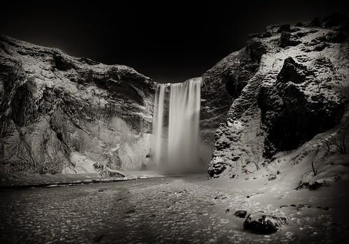 snow ice waterfall iceland waterfalls 60 skógafoss 2013 leefilters nikond800 afsnikkor1635mmf4gedvr marshallward