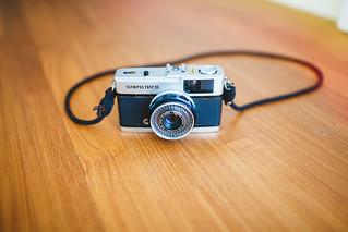 Vintage camera Olympus Trip 35