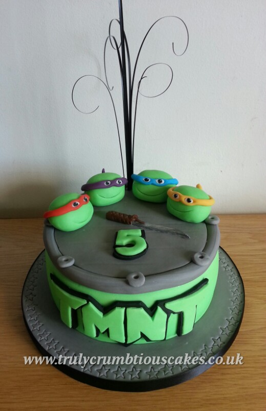 Pleasant Teenage Mutant Ninja Turtles Birthday Cake Debbie Scott Flickr Funny Birthday Cards Online Elaedamsfinfo