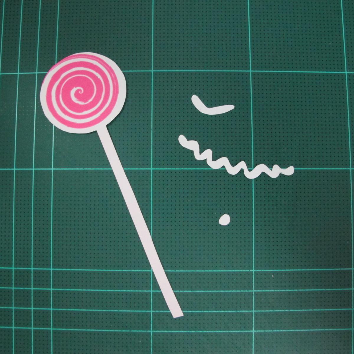 วิธีทำโมเดลกระดาษตุ้กตา คุกกี้สาวผู้ร่าเริง จากเกมส์คุกกี้รัน (LINE Cookie Run – Bright Cookie Papercraft Model) 026