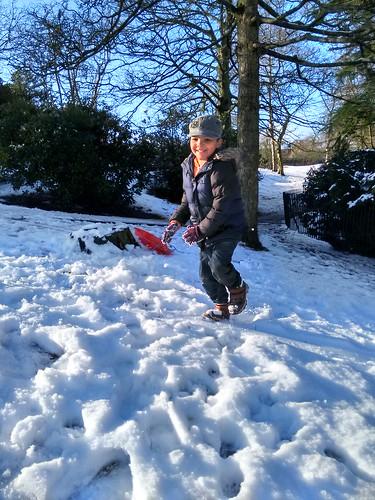 Enjoying the snow! | by Steve_Mc