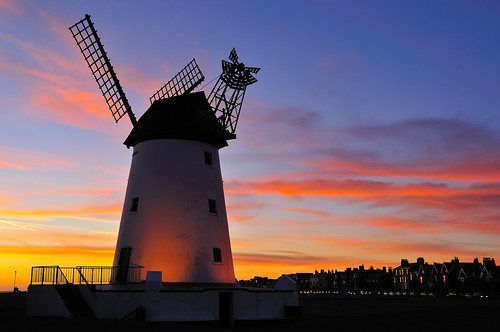 sunset england windmill lancashire lytham northernengland northwestengland fyldecoast lythamgreen lythamwindmill thefylde englishwindmill lancashirecoastline thefyldecoast southfylde