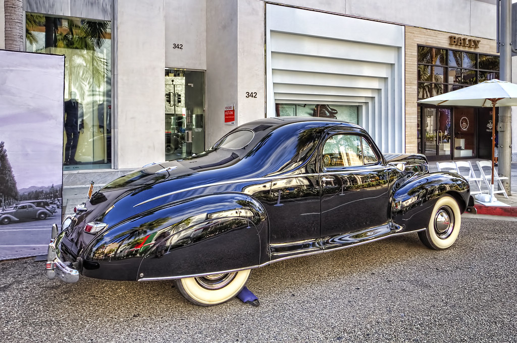 1941 Lincoln Zephyr V 12 3 Person Coupe Rodeo Drive Concou Flickr