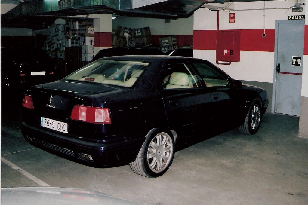 1998 Maserati Quattroporte V6 Evoluzione chasis 331697 (2 ...