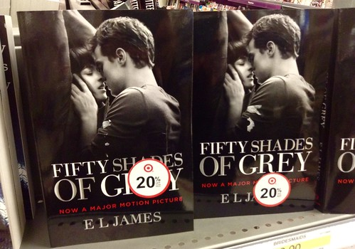 Fifty Shades of Grey Book Display at Target Stores | by JeepersMedia
