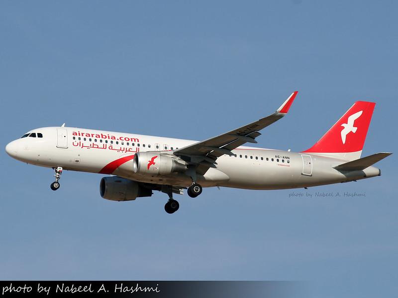 Air Arabia | Airbus A320-200(WL) | A6-ANN | SHJ