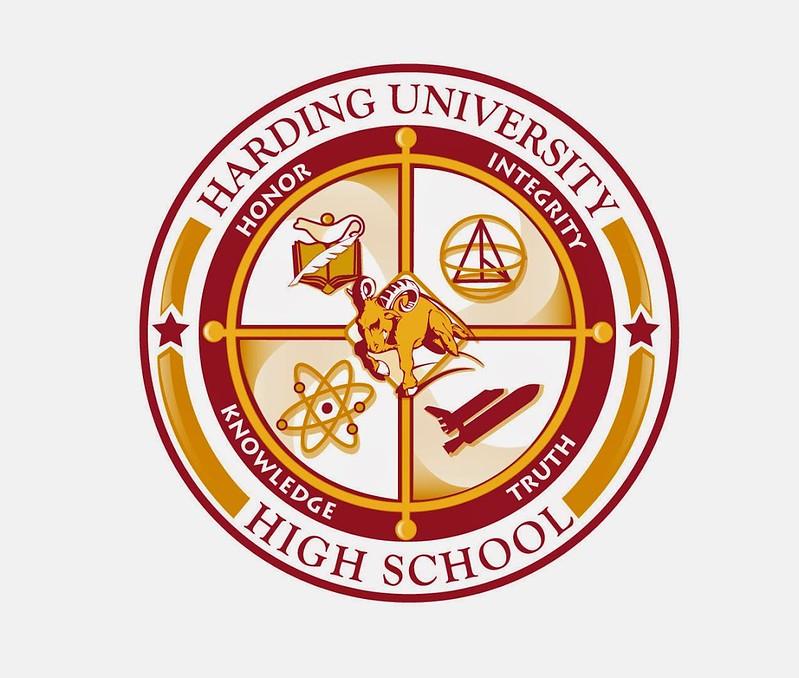Harding University High Crest