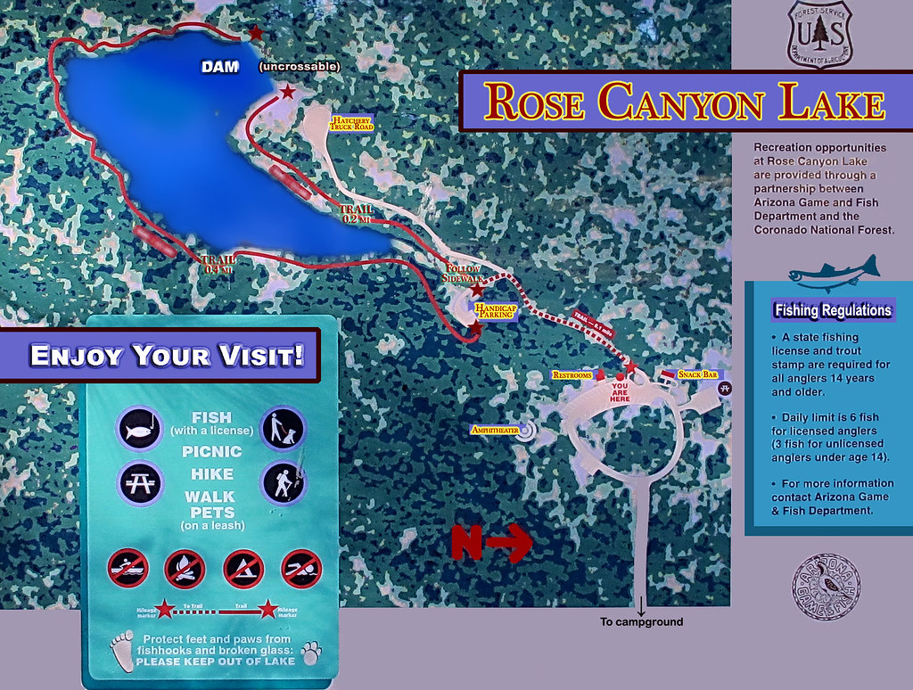 Canyon Lake Map on