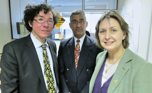 Judith Bunting, Ruwan Uduwerage-Perera and Alex Payton