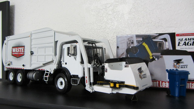 First Gear - Custom Painted Waste Equipment and Parts truck