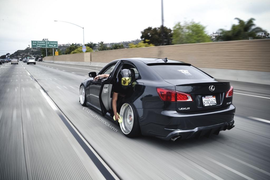 Slammed Lexus