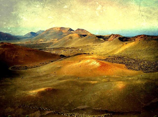 Lanzarote - Im Timanfaya - Montanas del Fuego , 9-110/2302
