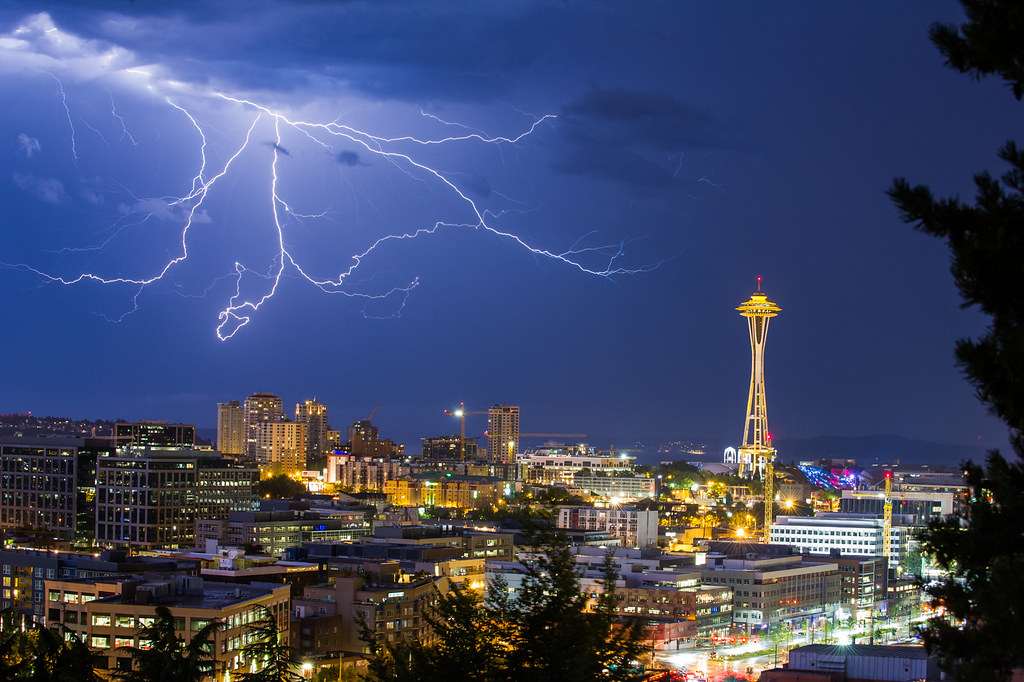 electrical storm / seattle 2013.08.10