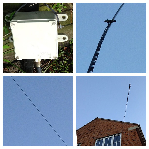 My #W3EDP #Antenna for the lower #HF bands  1, A 4:1 Curre