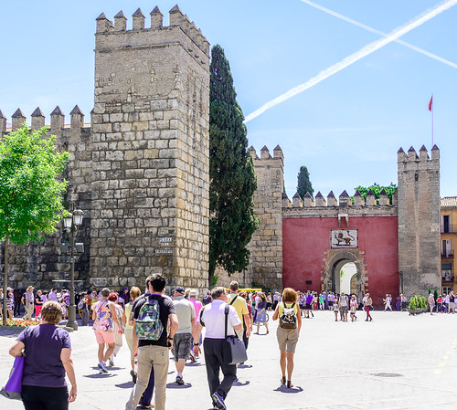 Gateway to Alcázar of Seville | by Craig Stanfill