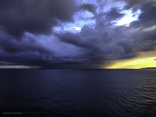 clouds sunrise coast jamaica thunderstorm falmouth trelawnyparish