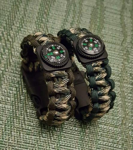 550 Paracord Survival Bracelets