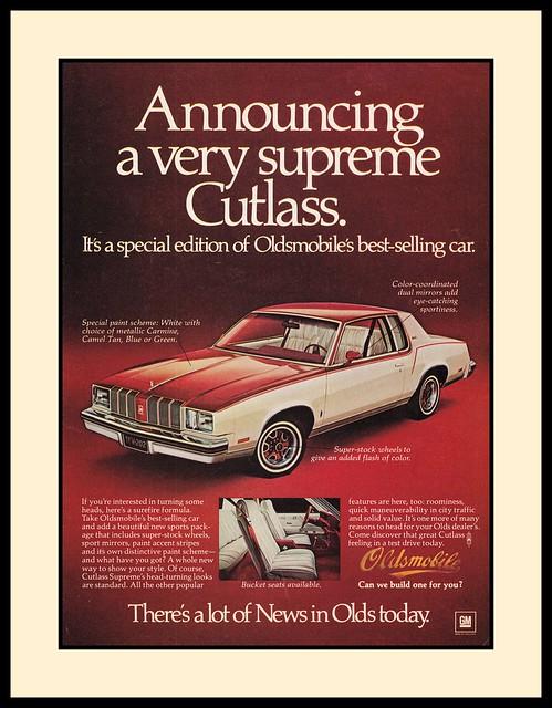 Oldsmobile Cutlass, 1978