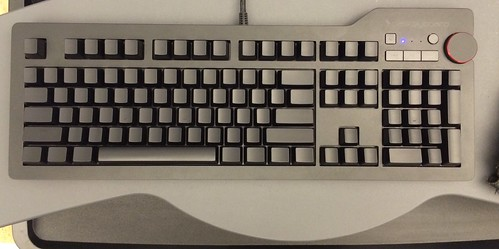 My new toy arrived. Das Keyboard 4 Ultimate mechanical keyboard with cherry brown switches #daskeyboard #mk   by djuggler