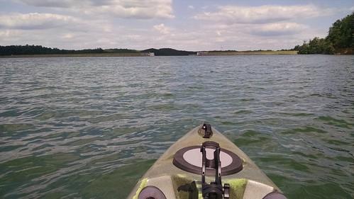 park lake james fishing kayak state north carolina paddling