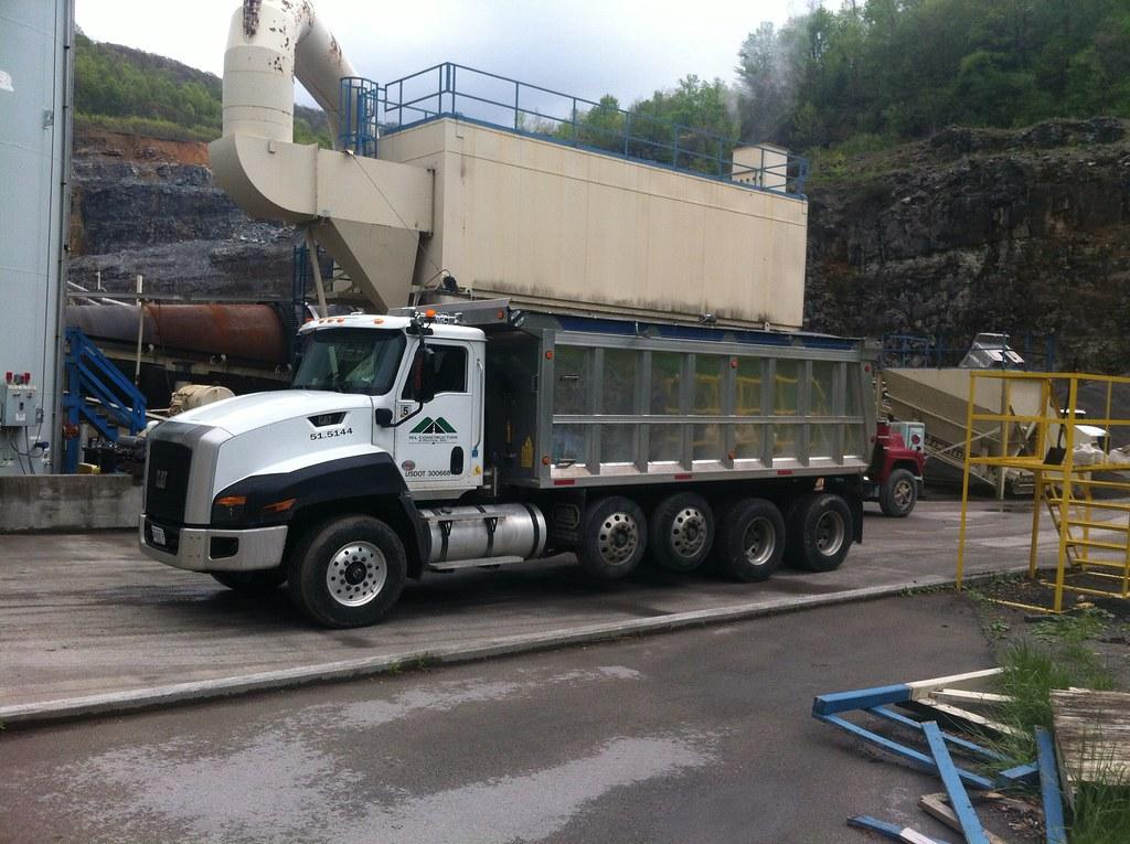 Cat Ct 680 dump truck | JJ Ryan | Flickr
