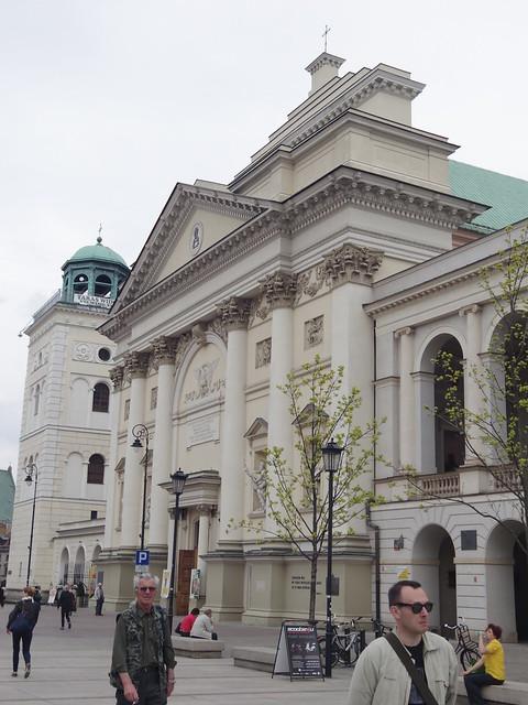 Eglise Sainte-Anne, Varsovie
