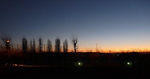 japan sunrise tokyo suburb