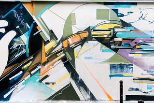 A.Kofie | Detail from the TRBLDSGN Mural, Paris 2013 | by KeepDrafting