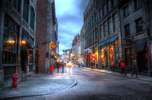 Old Montreal light.
