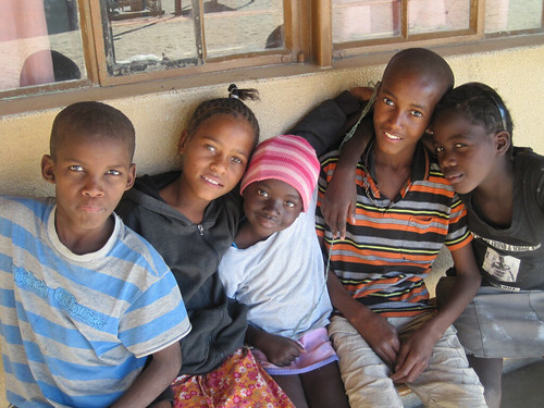 Young Children at the ELCRN hostel in Otjimbingwe   by World Bank Photo Collection