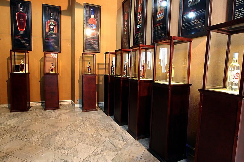 Museo del ron Havana Club, los rones
