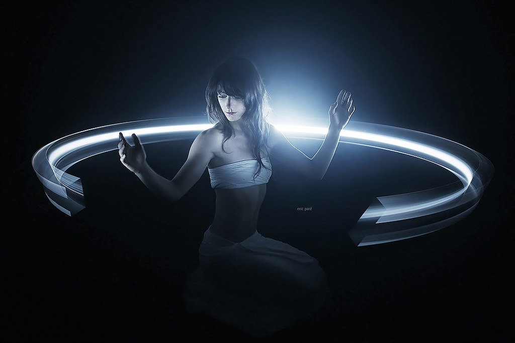 360 degree light-painting