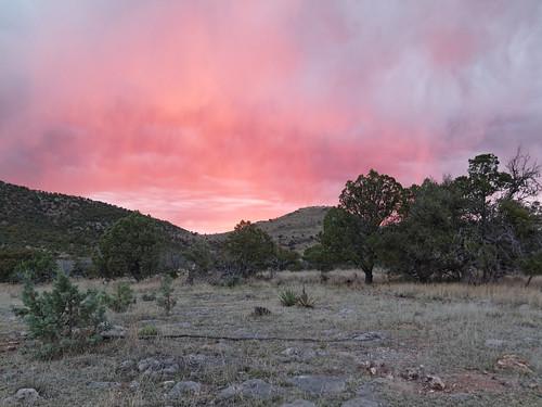 sunset arizona usa patagonia geotagged unitedstates canelo azt arizonatrail geo:lat=3151286000 geo:lon=11056325600