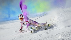 Marcel Hirscher performs during the    project Marcel Hirscher Colours 2015 in Schladming, Austria on March 24th, 2015 // Philip Platzer/Red Bull Content Pool // P-20150402-00165 // Usage for editorial use only // Please go to www.redbullcontentpool.com for further information. //