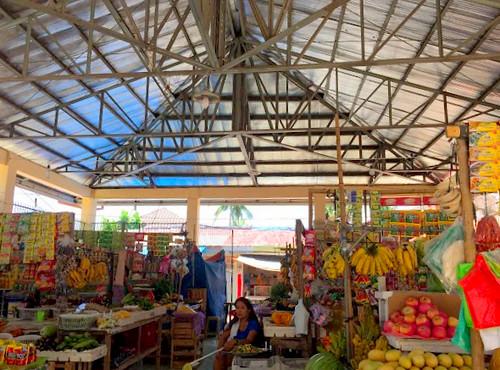The newly-rehabilitated Santa Fe Public Market - July, 2015   by dilg.yolanda