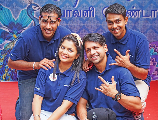 Singapore's new generation of Indians looking good!