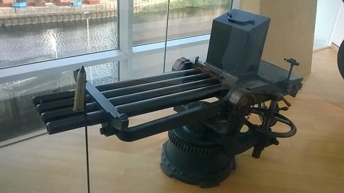4-barrel 1 inch Nordenfelt (RA-L)