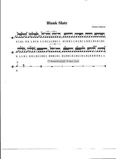 Blank Slate | by dajohnson_band
