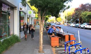 Portland, OR: Bamboo Sushi Street Seat 2015