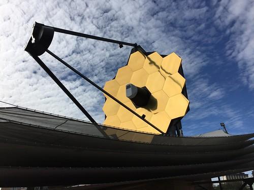 James Webb Space Telescope at Super Bowl Live   by James Webb Space Telescope