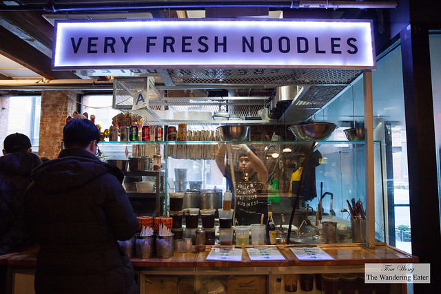 Very Fresh Noodles stand