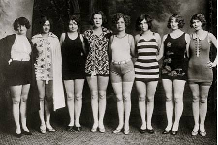 Ladies in Swimsuits