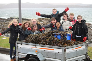 S1A collecting kelp to use as fertiliser | by Gairloch High
