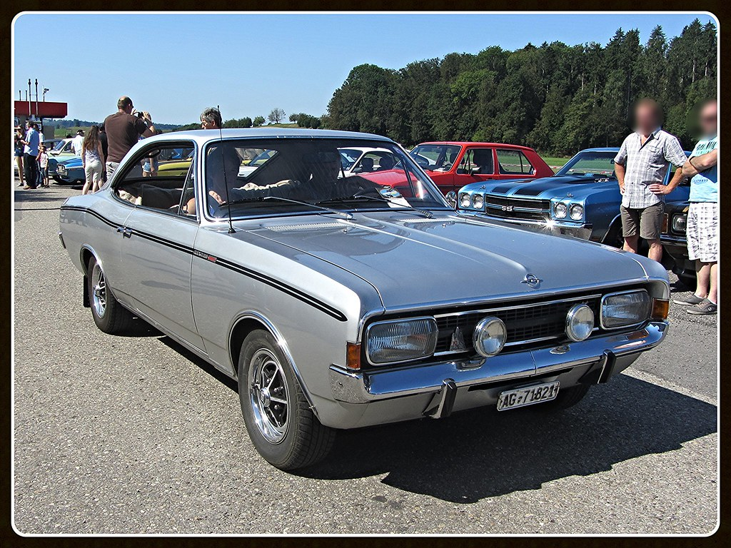 Opel Rekord C Sprint Coupe Oldtimers Bleienbach 28 08 20 Flickr