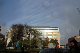 Rainbow over Build