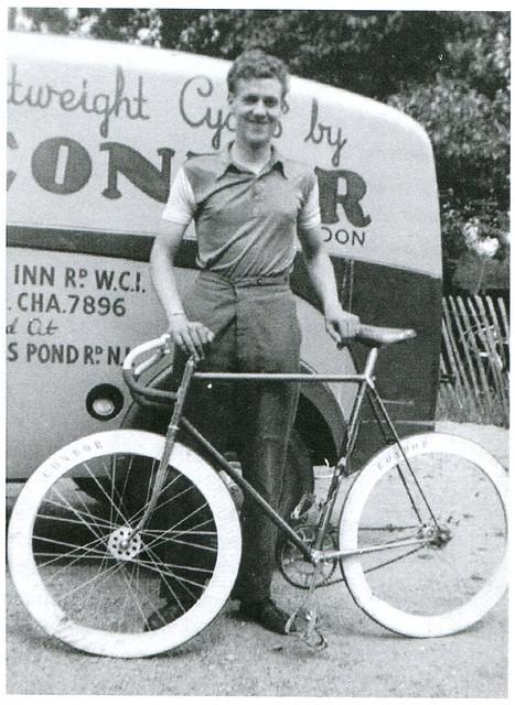 Ted Gerrard, Condor Cycles. Mid 1950's