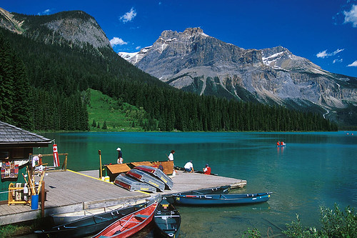 Emerald Lake, Yoho National Park, Rocky Mountains, BC Rockies, British Columbia