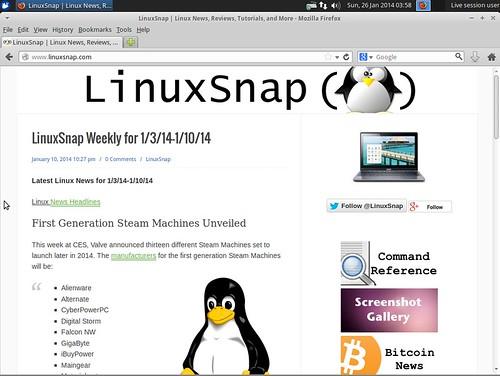 Xubuntu 14.04 Alpha 2 Firefox   by LinuxSnap